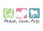 Peace, Love, Pugs