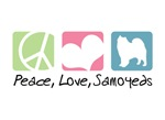 Peace, Love, Samoyeds