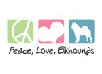 Peace, Love, Elkhounds