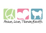 Peace, Love, Tibetan Mastiffs