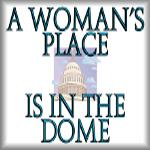 A woman's place is in the dome