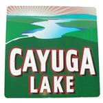 Cayuga Lake road sign