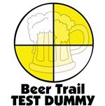 Beer Trail Test Dummy