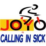 JOY is calling in sick