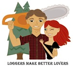 Loggers Make Better Lovers - Red