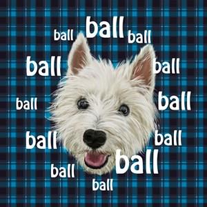 Westie Wants Ball