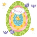 Personalize it -Easter Egg Rainbow