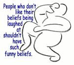 Funny Beliefs