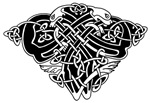 Celtic Knotwork Shield