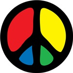 Funky Peace Symbol