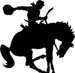 Bucking Bronco w/ Cowboy