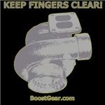 KEEP FINGERS CLEAR!