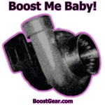 Boost Me Baby!  Purple Outline