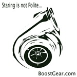 Boost Gear - Staring is not Polite