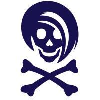Blue Li'l Spice Girlie Skull