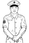 Stranger - Sketched Image