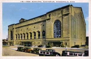 Minneapolis Auditorium, 1920's