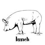 Lunch (Cute Pig)