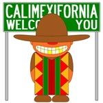California Illegal Immigrant  Invasion T-shirts