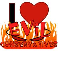 I LOVE Evil Conservatives T-Shirts