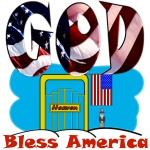 God Bless America Patriotic Christian Design