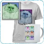 Colorful Persian T-Shirts and Gifts
