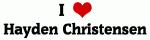 I Love Hayden Christensen