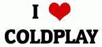 I Love COLDPLAY