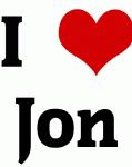I Love Jon
