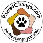 Paws4Change Logo