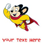 PERSONALIZED MIGHTY MOUSE