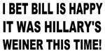 Hillary's Weiner