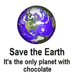 Save the earth chocolate