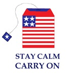 Stay Calm Carry On Tea Party