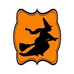 Orange Black Witch