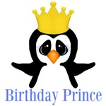 Birthday Prince Penguin
