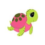 Pink Sea Turtle