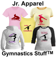 Gymnastics Apparel (Jr) - T-shirts, Hoodies, Tanks