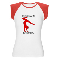 Gymnastics Apparel - Cap Sleeve T-shirts