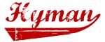 Hyman (red vintage)