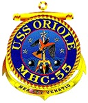 USS Oriole MHC-55 Navy Ship