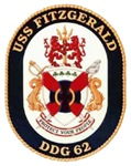 USS Fitzgerald DDG-62 Navy Ship