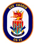 USS Chosin CG 65 Navy Ship