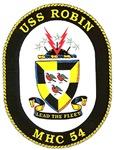 USS Robin MHC 54 Navy Ship