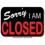 Sorry I Am Closed