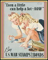 A LITTLE COULD HELP A LOT WWII T-SHIRTS