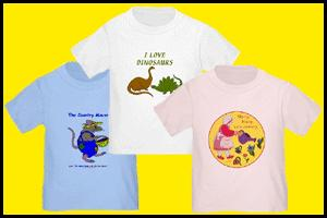 BABY T-SHIRTS WITH CUTE DESIGNS