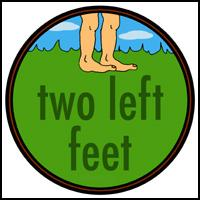 TWO LEFT FEET LEFTY T-SHIRTS AND GIFTS