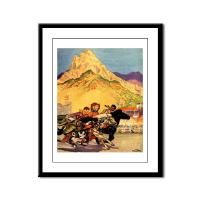 Western Americana Framed Art and Tiles