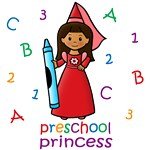 Preschool Princess (Dark Skin)